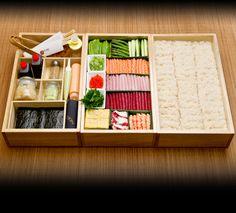 Nobu Hand Roll Box