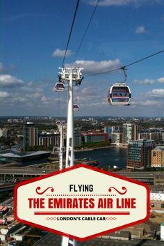 London, UK - Read more about the Emirates Air Line, London's only Cable Car. Taking approximately 10 minutes to 'fly' over the River Thames between the Greenwich Peninsula and the Royal Docks.