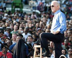 Joe Biden has a little captain in him.