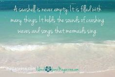 Ocean Quotes, Beach Quotes, Beach Sayings, Waves Song, Mermaid Waves, Social Media Quotes, I Love The Beach, Crashing Waves, Card Sentiments