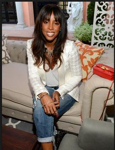 Pretty Young Thing Kelly Rowland Attends The Roc Nation Pre Grammy Brunch Presented By Mac Viva Glam At Private In Beverly Hills California