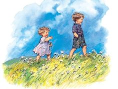 'Annie Rose is my little sister' by Shirley Hughes