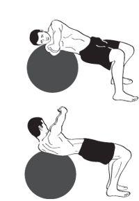 Drive the golf ball longer exercises