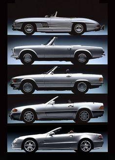 Mercedes-Benz SL History (1957-2007)