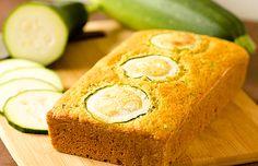 Zucchini Cornbread Recipe from the Brown Eyed Baker blog. #zucchini #bread