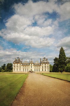 Chateau Cheverny, France  From my trip to the Loire valley last year