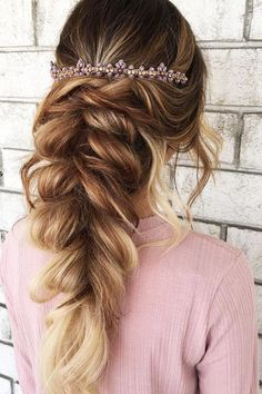 Best Wedding Hairstyle Trends 2017 ❤️ It is necessary to look for the most popular ideas while planning your wedding. We have collected the best wedding hairstyle trends for your bridal look. See more: http://www.weddingforward.com/wedding-hairstyle-trends/