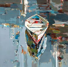 Josef Kote: Moment of Solitude (50x50 giclee on canvas) from Renjeau Galleries, renjeau.com
