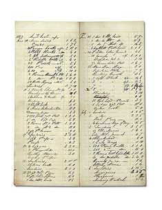old ledger pages that you can download and print