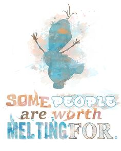 Frozen fever is still going strong. Who doesn't love a happy little snowman who loves warm hugs? #Frozen #Disney #Olaf #etsy