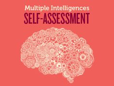 Multiple Intelligences Self-Assessment. #MI #Arborescence #ydem