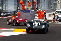 Jaguar C-Type - Chassis: - Entrant: Tom Price - Driver: Jeffrey O'Neill - 2018 Monaco Historic Grand Prix Tom Price, Jaguar, Grand Prix, Monaco, Toms, Racing, Vehicles, Running