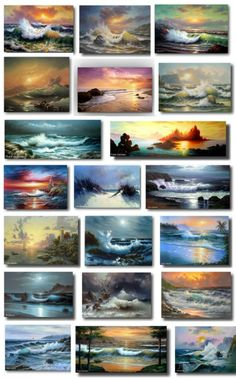 Frank Jonhston - seascapes