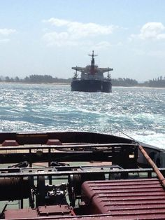 2-refloating and sinking of bulk carrier MV Smart's aft section in South Africa.