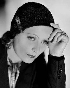 Greta Garbo, 1930 // portrait by Clarence Sinclair Bull done as publicity for her first talking picture Anna Christie