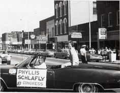 #ThrowbackThursday - Phyllis's 1970 run for Congress!