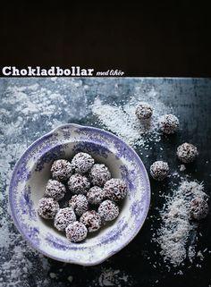 Lite extra lyxiga chokladbollar