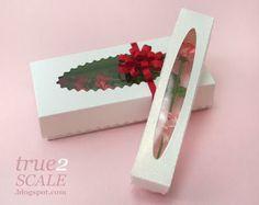 Miniature box of roses tutorial