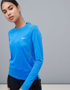 Buy Nike Running Miler Long Sleeve Top In Cobalt at ASOS. With free delivery and return options (Ts&Cs apply), online shopping has never been so easy. Get the latest trends with ASOS now. Nike Running, Long Sleeve Tops, Latest Trends, Asos, Fitness, Mens Tops, Jackets, Cobalt, Shopping