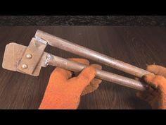 Инструмент который поможет в работе с листовым металлом - YouTube