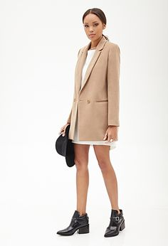 Just orderd this Oversized Classic Blazer from - 2000119746 Cute Blazers, Blazers For Women, Coats For Women, Heels Outfits, Casual Outfits, Casual Clothes, Cute Fall Jackets, Tan Blazer, Topshop Shoes