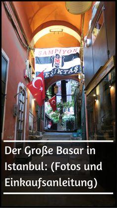 Der Große Basar in Istanbul: Fotos und eine Einkaufseinleitung für den Basar mit über 4.000 Geschäften und 30.000 Angestellten. http://www.tuerkeireiseblog.de/grosse-basar-istanbul/