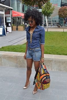 How To Rock African Prints {but why do SO MANY of these looks depend on rocking towering heels? i am not about this life)