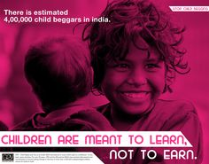 Mini Campaign done in College advertising the situation through which street children are going through in our country and what is necessary for them which is education which they get with the help of some NGOs and our support rather than getting them indulge in wrong activities which good for their future.