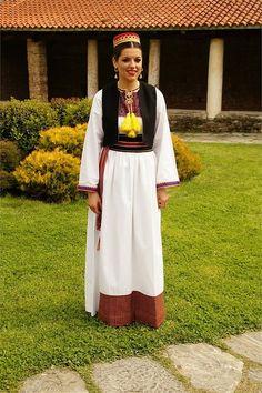 Balkan Traditionelle Kleidung  Mazedonien  Macedonia