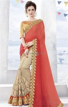 Irresistible Orange And Cream Chiffon And Net Half Sari Online   To View More Saree Blouses Collection: http://www.designersandyou.com/saree-blouse  To View More Half Saree Blouses Collections:- http://www.designersandyou.com/saree-blouse/half-saree-blouse #HalfSareeModels #Designersandyou #HalfSareeBlouseDesign #FancySareesWithPrice #HalfSareeCollection #HalfSareesDesign #HalfSareesModels #HalfSareeDesigns #LatestSareesFashions #FancySareesOnlineShopping #SareeDesignPatterns…