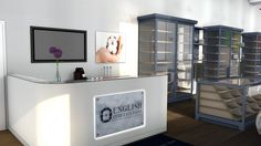 Designs for a new reception and showroom at Tower Mill