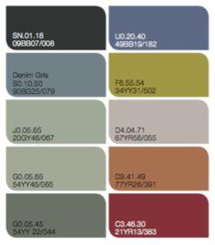 Denim gris el color del a o 2017 de bruguer color del - Paleta colores bruguer ...