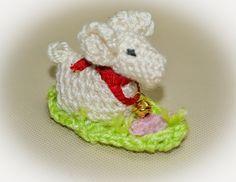 Baranek Wielkanocny na szydełku / Lamb Easter crochet
