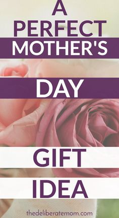 Wow your mom with this perfect Mother's Day gift!