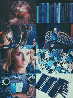 Luna Lovegood; a Ravenclaw through and through! Sometimes being wise means seeing the world differently