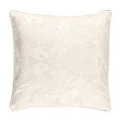 Ivory Silk Jacquard Pillow Cover  - Zara Home