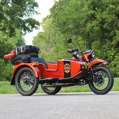 """2017 Ural Gear-Up """"Adventure Together"""" Edition This two-wheel drive sidecar from Ural Motorcycles is a special edition, outfitted and graphic-designed by Ural ambassadors and AMA members, the Wilkinson Brothers of Indianapolis. The brand new motorcycle was carefully set up and dialed in by one of the nation's top Ural sales & service dealerships, Heindl Engineering of Eaton, OH (also AMA members). From the factory, this Gear-Up model features upgrades and the latest developments from the...."""
