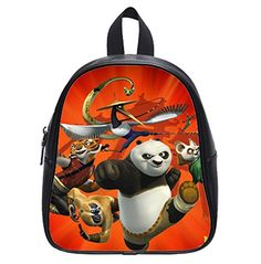 Home Decor Kung Fu Panda Custom Kids School Backpack Bag Small The Portable >>> You can get additional details at the image link.