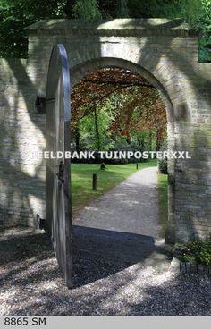 Een afbeelding van Tuinposter xxl verandert het uitzicht snel.
