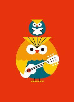 owls by Shunsuke Satake