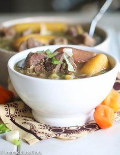 Goat pepper soup