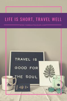 Life is Short, Travel Well - The BeauTraveler Travel Ideas, Travel Inspiration, Gap Year, Life Is Short, Travel Quotes, Places To Go, Routine, Things To Do, Waiting