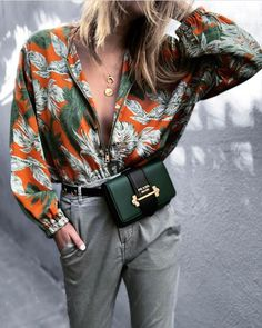 Bored of Florals? Try Leaf Prints This Summer