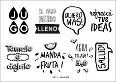 Imagen de Vinilos Vasos Silhouette Projects, Silhouette Cameo, Menu Design, Happy Planner, Stencils, Diy And Crafts, Letters, Writing, Scrapbook