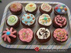Εύκολα παιδικά σοκολατένια muffins