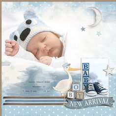 The All About Baby Boy Collection Biggie will help you celebrate the big moments as well as the everyday little moments of your baby boy's life. Borders For Paper, Baby Birth, Digital Scrapbooking, Paper Templates, Baby Boy, Boys, Girls, Blenders, Scrapbook Layouts
