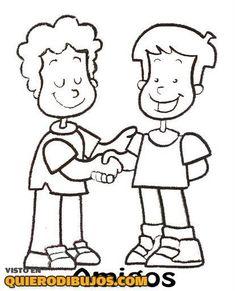 Resultado de imagen para fraternidad para niños para colorear