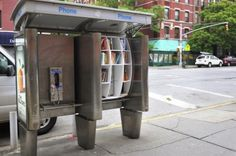 Travelettes » New York's Pop-Up Libraries