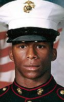 Marine Lance Cpl. Demarkus D. Brown Died November 19, 2004 Serving During Operation Iraqi Freedom 22, of Martinsville, Va.; assigned to 1st Battalion, 8th Marine Regiment, 2nd Marine Division, II Marine Expeditionary Force, Camp Lejeune, N.C.; killed Nov. 19 by enemy action in Anbar province, Iraq.