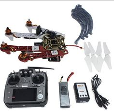 285.36$  Buy now - http://alibwu.shopchina.info/go.php?t=32389151527 - F02192-S 4-axis Aircraft RC Quadrocopter Helicopter RTF F450-V2 Frame GPS APM2.8 AT10 TX/RX Battery 285.36$ #aliexpress